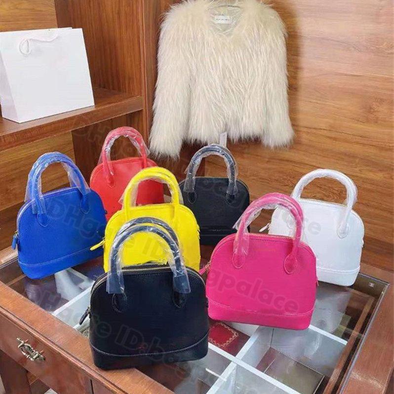 2021 Luxurys Tasarımcılar Çanta Kadın Kabuk Kılıf Omuz Çanta Messenger Deri Retro Kadın Moda Vintage Çanta Klasik Crossbody Debriyaj Lady Bagpalace