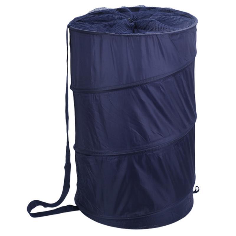 Mit Griffkordelzug-Verschluss Große Organizer Wäsche-Korb Schlafzimmer Hamper Home Oxford Tuch zusammenklappbar Sammeln von Bin-Taschen