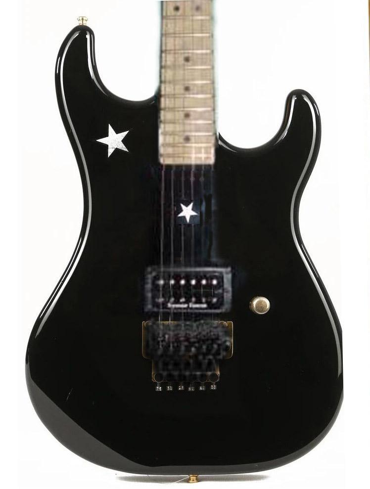 Black Stra Tremolo, Guitare Richiesambora