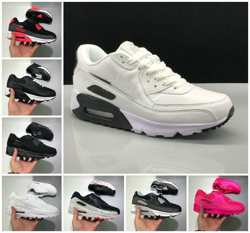 أعلى جودة 90 ثانية الأحذية الرياضية رخيصة 90 الرجال النساء أسود أبيض الأشعة تحت الحمراء recraft رويال دنهام أحذية رياضية كلاسيكية مصممي حذاء B20