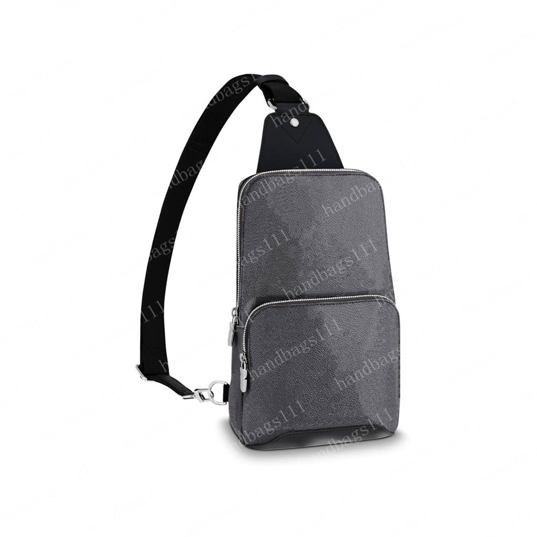 حقيبة كروسبودي حقيبة يد الرجال رسول حقيبة الرجال حقائب الكتف المحافظ رجل الجلود مخلب دامييه أكياس الأزياء محفظة أكياس سوداء fannypack 68 827
