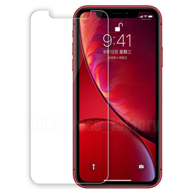 2.5d Szkło hartowane 9H Protector ekran Premium Wybucha Twarda osłona Filmowa Osłona dla iPhone 13 Pro Max 12 mini 11 XS XR X 8 7 6 6S PLUS SE