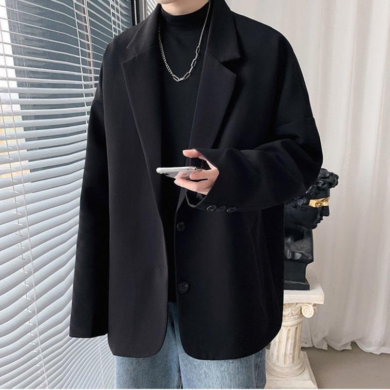 2021 Blazer de primavera y otoño, traje ruffian casual de los hombres, tapa de moda coreana