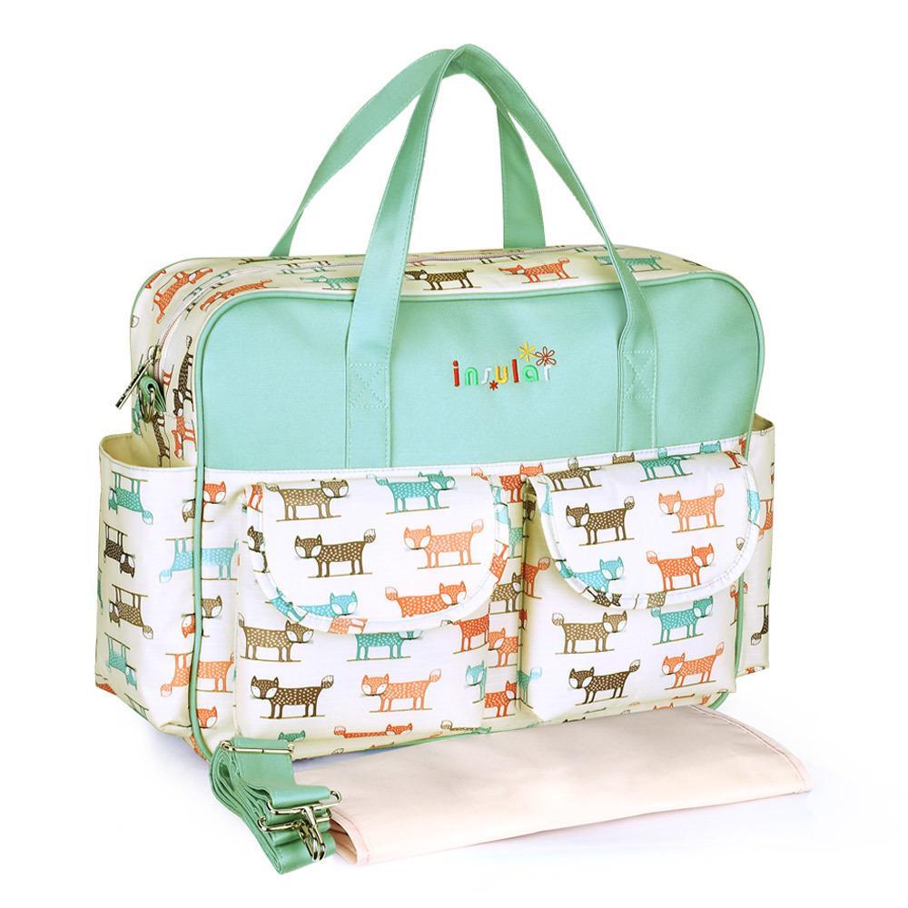 Borsa per pannolini per madre pannolini borse da bambino durevole per passeggino bacino cambando bag maternità tote 210326