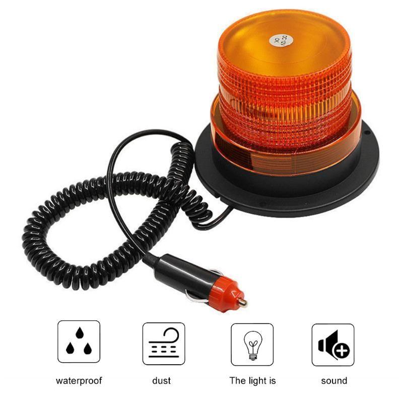 Lâmpada de emergência do flash de emergência do semáforo Lâmpada de alta rotação da lâmpada de giro das luzes da segurança da segurança