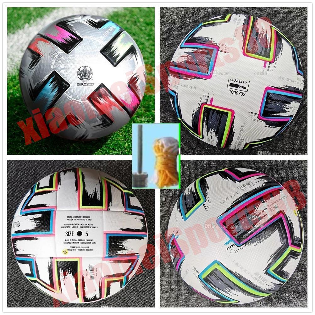Tamaño de la taza de la cima de la copa: 4 Balón de fútbol 2021 UNIFORIA FINAL FINAL FINAL KYIV PU Tamaño 5 Bolas Gránulos de fútbol resistente a los deslizamientos