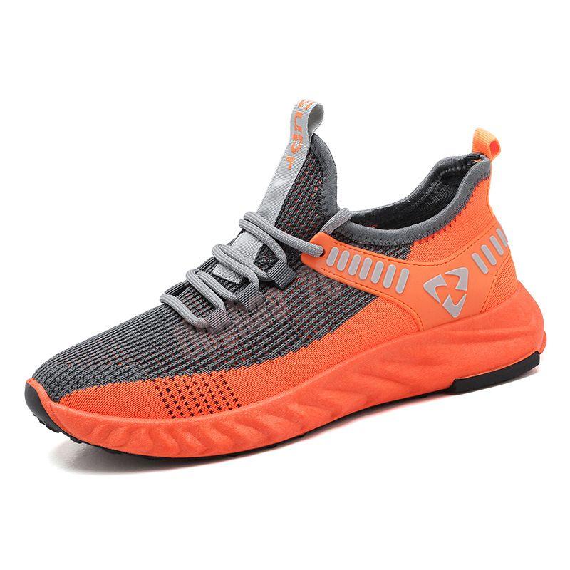 2021 Haut de haute qualité Hommes Casual Chaussures Sneaker Grey Sports Baskets Baskets Taille 7-13 des Chaussures 18