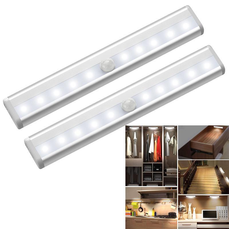 Smart Home Control LED Bewegungssensor Lichtschrank, Kleiderschrank, Nachttisch, Schrank, Nachtlicht, Schrank Universal