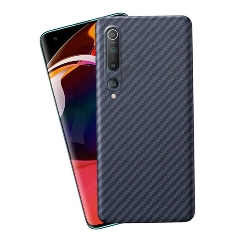 Pure Carbon Fiber Ultra-Thin Mobile Phone Cases Shell For Xiaomi Mi 10 Pro Shockproof Anti-Drop Full Cover
