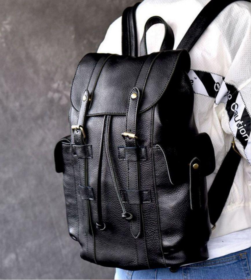 2021ew bag shoulder bag female travel bag Korean PU leather waterproof foreign trade backpack handbag
