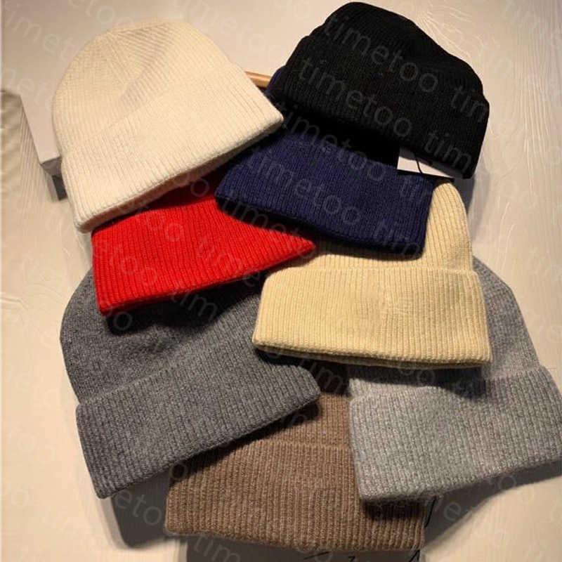 Designer Mens Beanie Womens Knitted Hat Luxury Skull Caps Winter SKI Keep Warm Rabbit Fur Cashmere Casual Outdoor Fashion Hats Top Quality 8 Colors+free Dust Bag