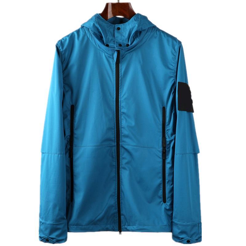 topstoney 2020 konng gonng nova primavera e outono capuz chapéu destacável vintage respirável jaqueta solta marca marca
