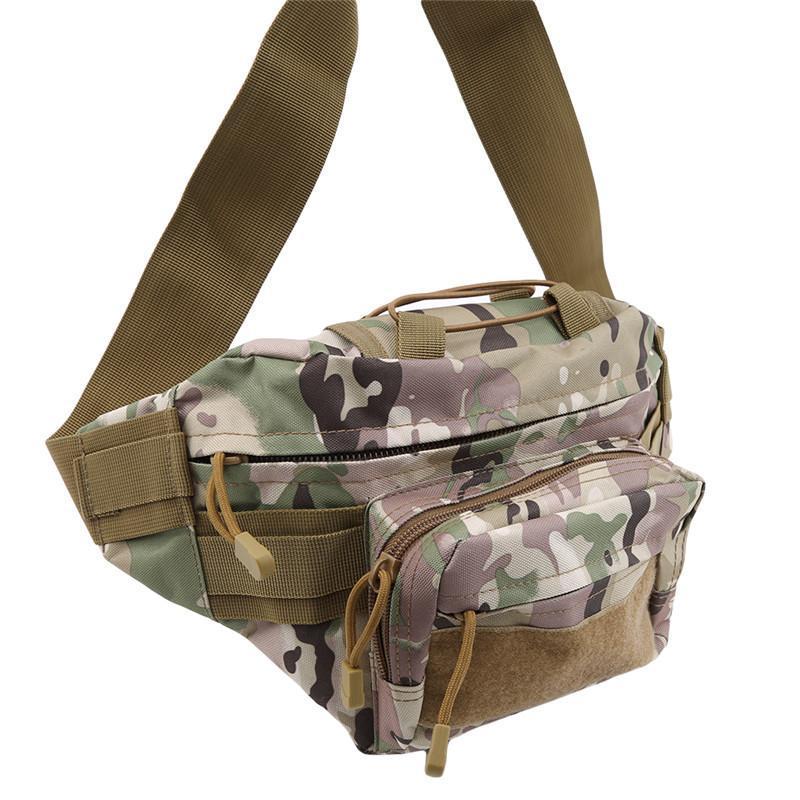 Homens Militar Cintura Bolsa Tático Ombro Multi-bolso Camping Caminhadas Bolsa Bolsa Bags Utdoor