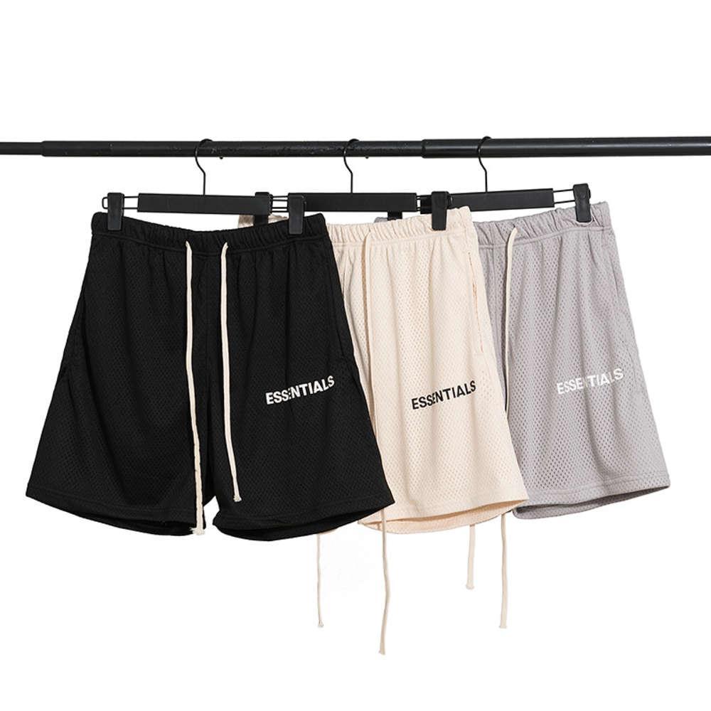 Summer Beach Chao Brand Brand Nebbia a 5 punti Pantaloncini da uomo Mesh Sport da donna ad alta strada e pantaloni per il tempo libero
