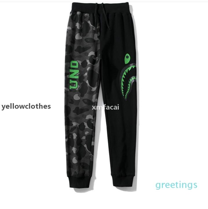 JH New Autumn Winter Lover Camouflage Pattern Pants Trousers Teenager Hip Hop Streetwear Pants Sizes M -2xl V K