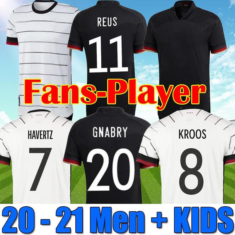 لاعب نسخة 2021 ألمانيا لكرة القدم الفانيلة تاه جوندوجان هامليلز غنابي فيرنر كروس 20 21 كيميش مايلوت دي القدم لكرة القدم ريوس برانت هافنز الأعلى الرجال + أطفال زي
