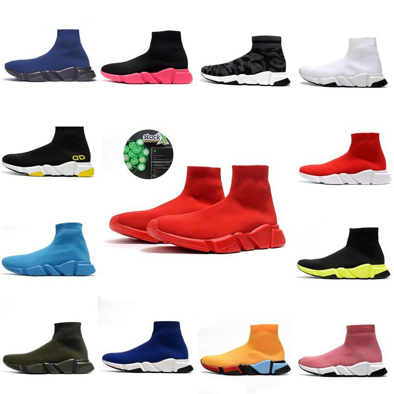 2020 designer sock sports speed 2.0 trainers trainer luxury women men runners shoes trainer sneakers  donne felpa  uomini scarpe da uomo balenciaga balenciaca balanciaga