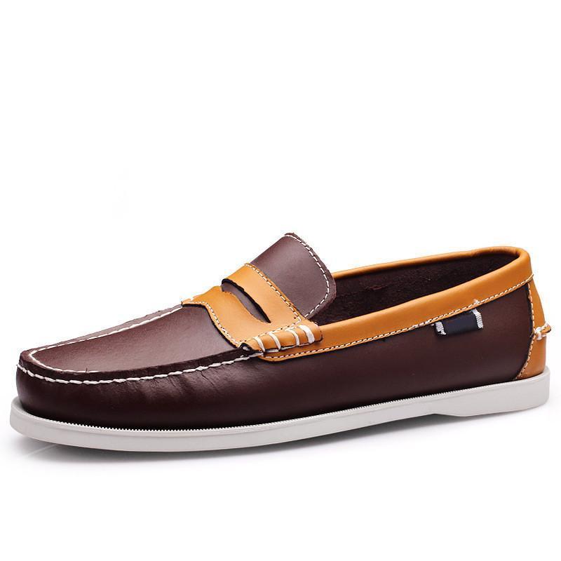 Mode Hommes Casual Chaussures Type05 Cuir Style britannique Noir Blanc Blanc Jaune Jaune Rouge Jaune Extérieur Confirmer Confirmer Chaussures Zapatos Schuhe Formateurs