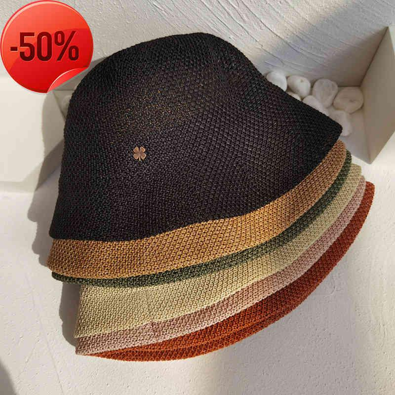Brimless cap classic letter knitted men's and women's warm autumn winter thick wool embroidered hat lovers fashion casual 2