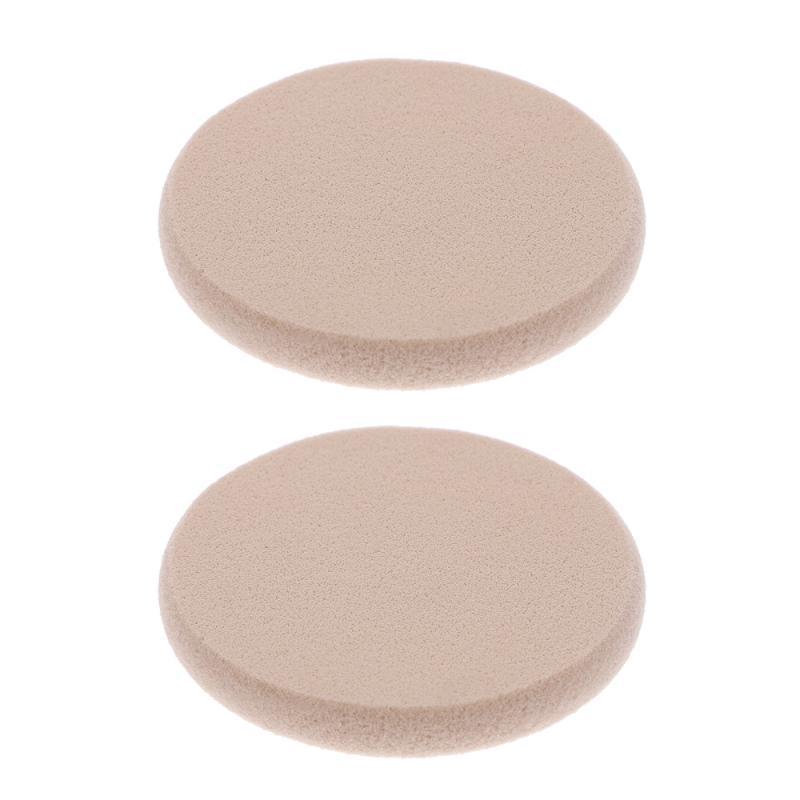 Губки, аппликаторы хлопчатобумажные 2 шт. Красота макияж для лица губки для лица слойки сухой и влажный косметический порошок