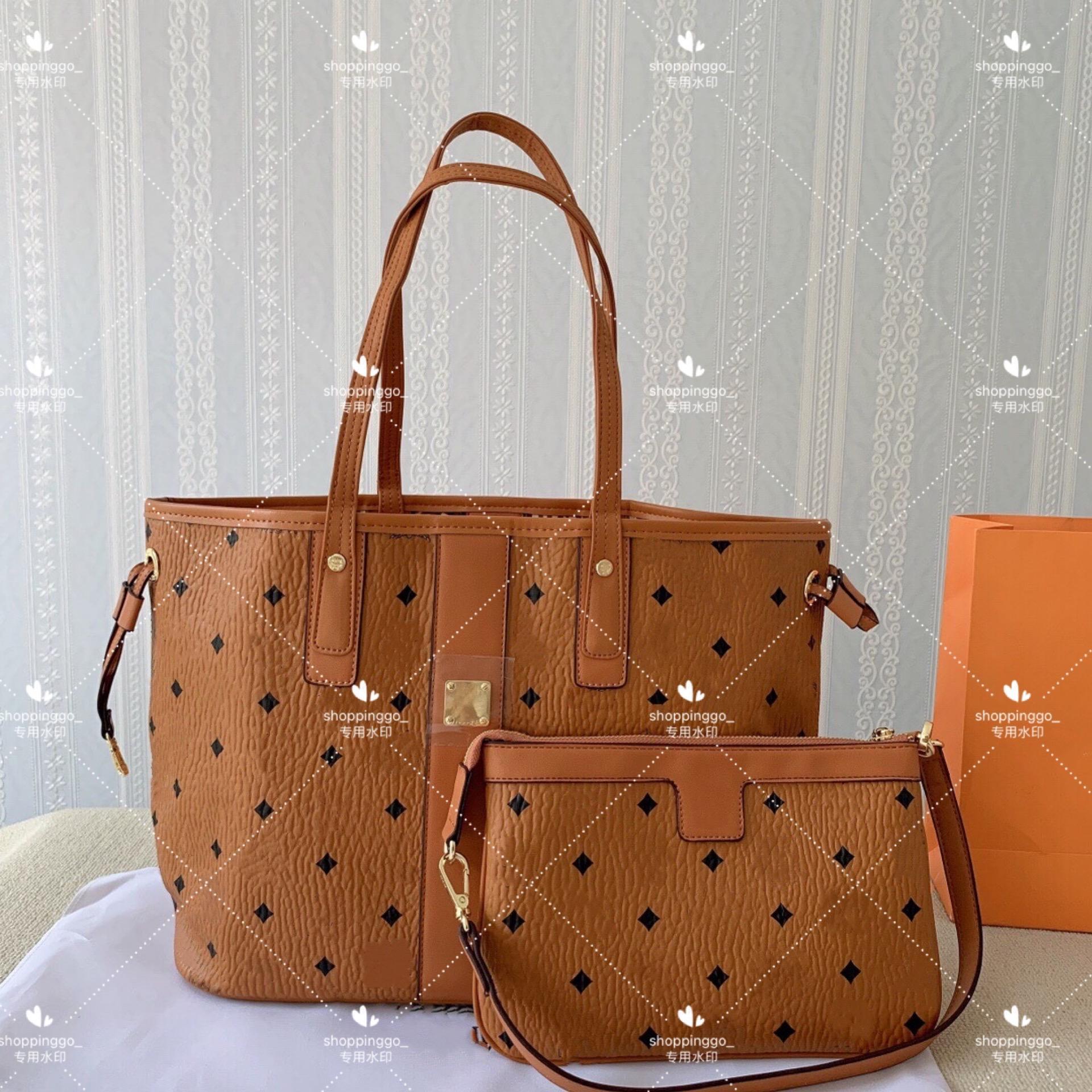 Übergroße Paselbeutel Handtaschen Nachahmung Marken Tote Frauen Luxurys Designer Taschen Lackleder Handtasche Original Clutch Großhandel Alte Blume Rindsleder Schulter Brieftasche