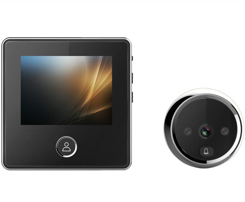 Home Smart Electronic Peephol-Kamera Türklingel-Diebstahltüren-Türen Digital Türspiegel Andere CCTV-Kameras 20 21