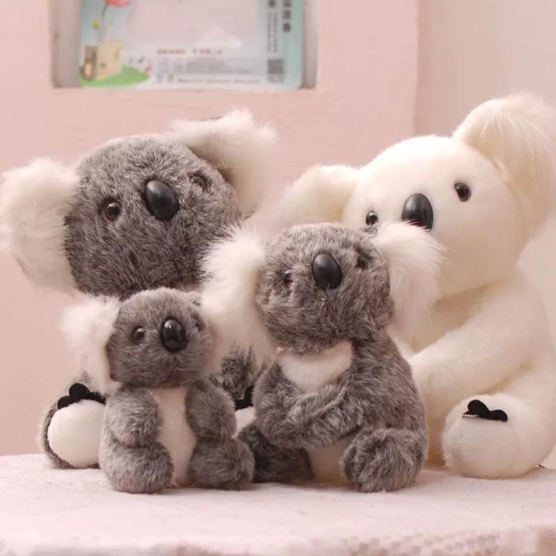 Augralian Koala Bear Furned мягкая кукла Kawaii плюшевые дети милый подарок для друзей для друзей девочек детские родитель-ребенок игрушки