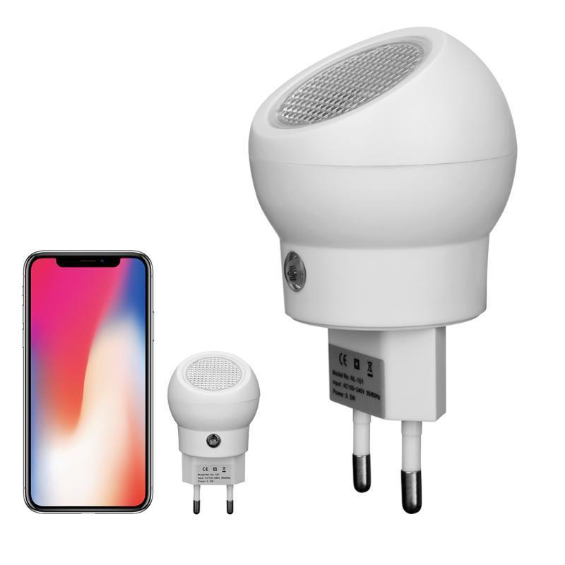 Gece Işıkları AB Tak Sensörü LED Akıllı Ev Otomatik Olarak Aç / Kapalı Besleme Lambası Bebekler Sevimli Yatak Odası Dekorasyon Süsler