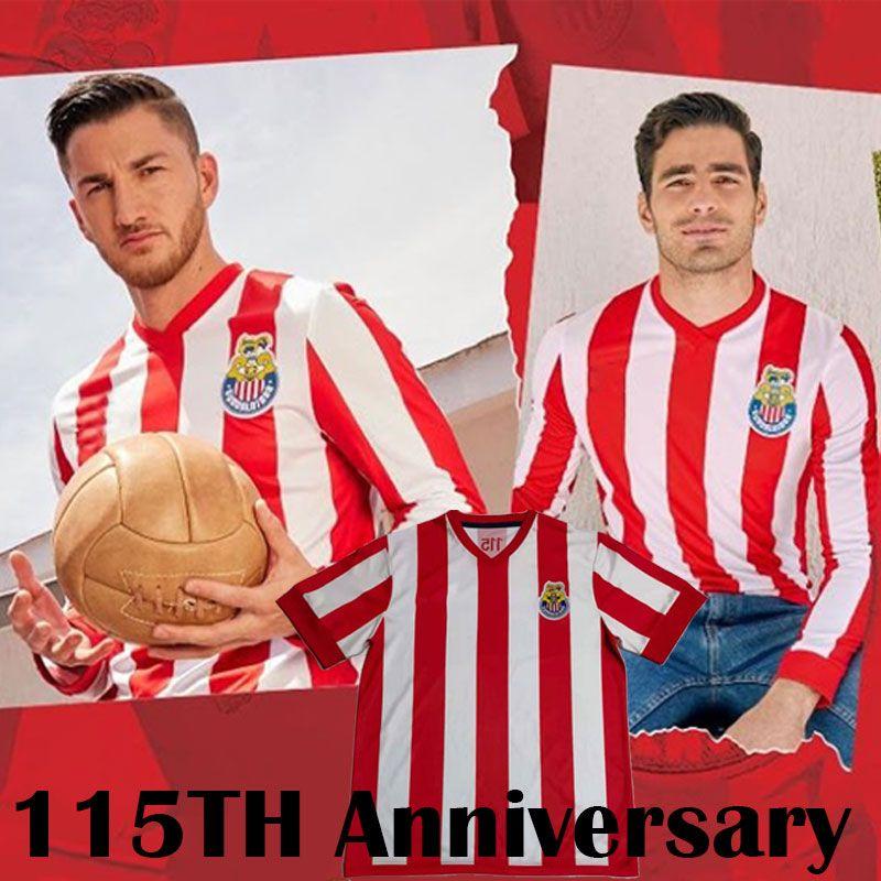 Chivas 115th Anniversary Camisa 2021 Liga MX Club América Futebol Jerseys 20 21 Unam Guadalajara Cougar México Tijuana Atlas Cruz Azul Laguna Kits de futebol