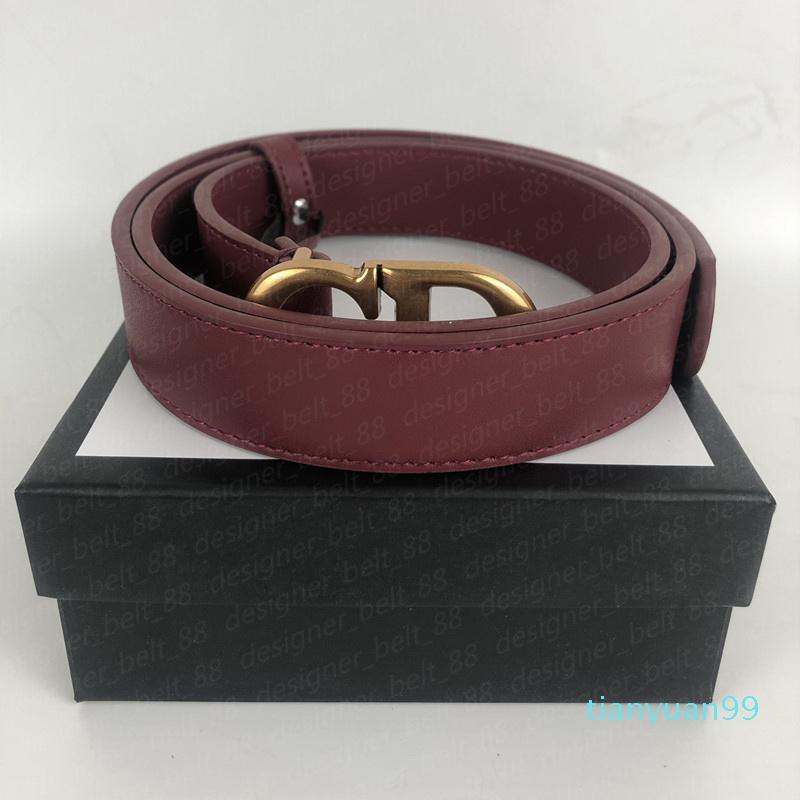 De alta qualidade Luxo Lazer Das Mulheres Designers Cintos CD letra fivela fivela cinto para mulheres cinturones de mujeres largura 2.8cm com caixa