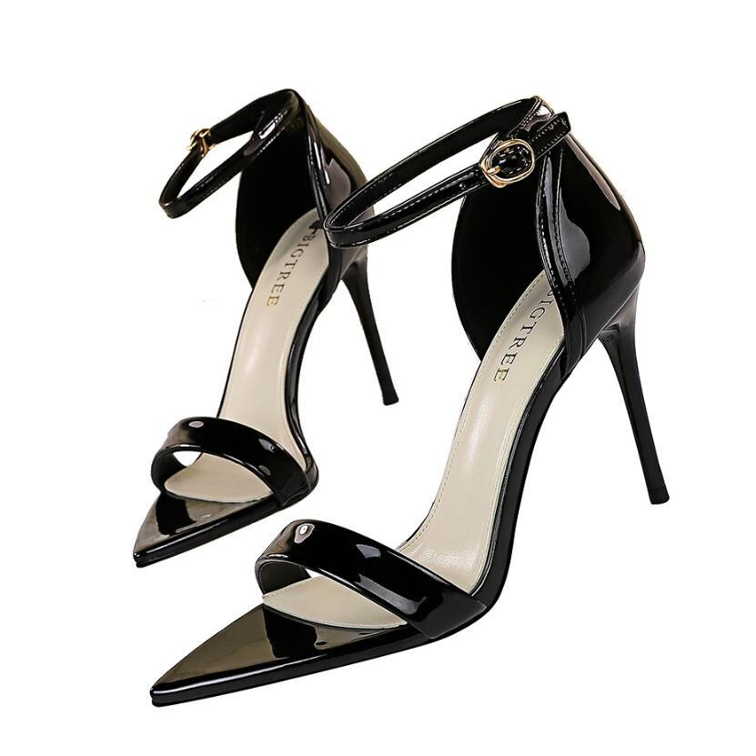 Luxus Hohe Qualität Heels Sandalen Frauen Designer Mode Ferse Schuhe Echtes Leder HEELED Womens Sandale