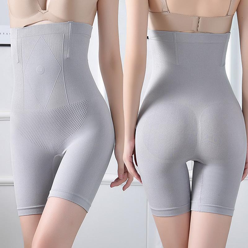 Бесшовные приклазочные подъемные трусики Tummy Control Женщин Chapeewear Высокая талия Тело Тонкий нижнее белье Shaper