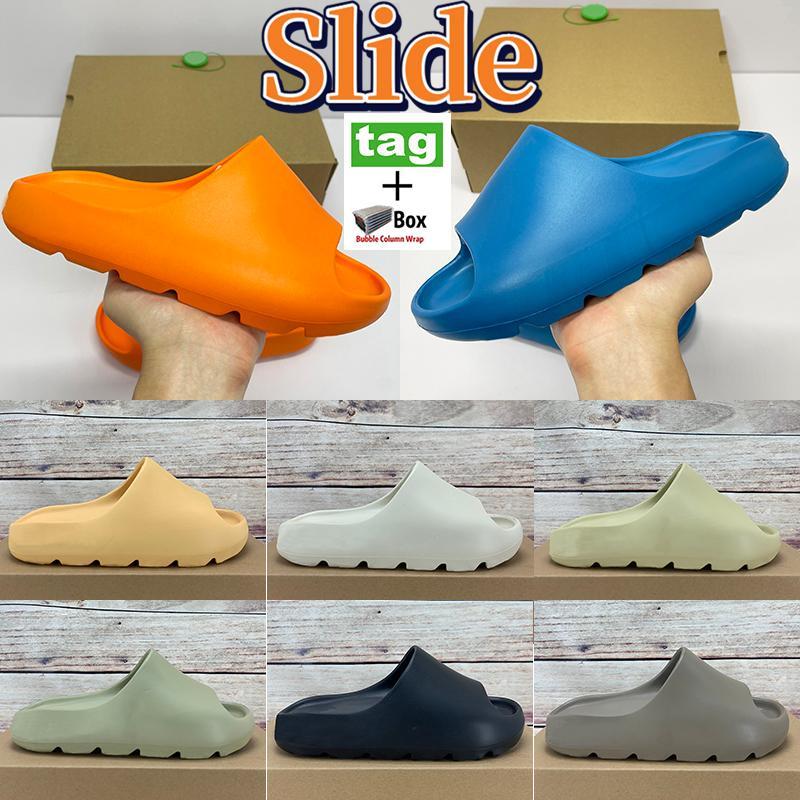 Kühle Hausschuhe Schuhe Enflame Orange Enfora Desert Sand Earth Braun Herren Womens Slide Mode Sommer Triple Black Platform Sandle mit Box