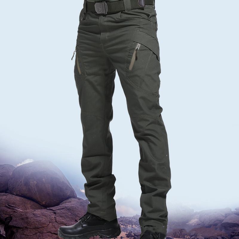 السراويل الرجال 2021 المزيد من مواسم التكتيكية متعددة جيب مرونة مدينة عسكرية سليم الدهون وزرة
