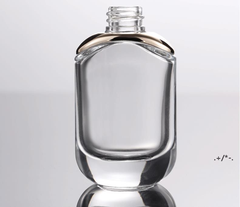 Очистить плечо косметические эфирные нефтяные бутылки 30 мл 1 oz Esse Essence стеклянные бутылки капельницы EWA4545