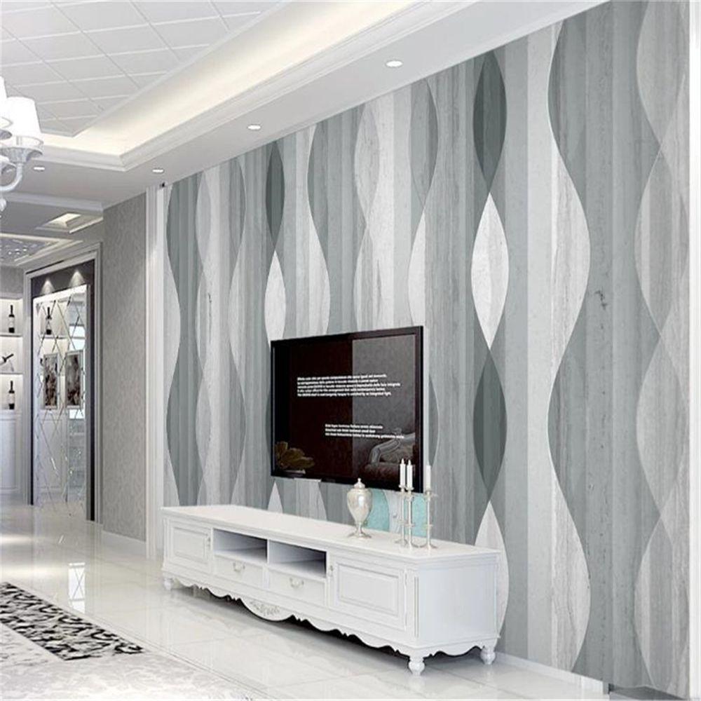 Home Decor Classic 3D Wallpaper HD Atmosphärische geometrische Moderne Marmor Wohnzimmer Schlafzimmer Hintergrund Malerei Wandbild Wallpapers