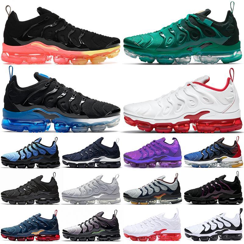 air vapormax plus tn vapors vapor max TN artı koşu ayakkabıları erkek kadın tns erkek bayan eğitmenler açık spor ayakkabı büyük boy 36-47
