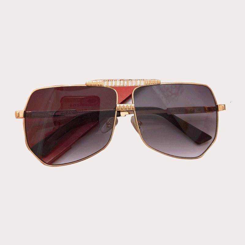 جديد الماس شقة أعلى النظارات النساء العلامة التجارية تصميم فلاش إطار كبير أشبع الشمس أنثى مرآة العين نظارات oculos انشائية