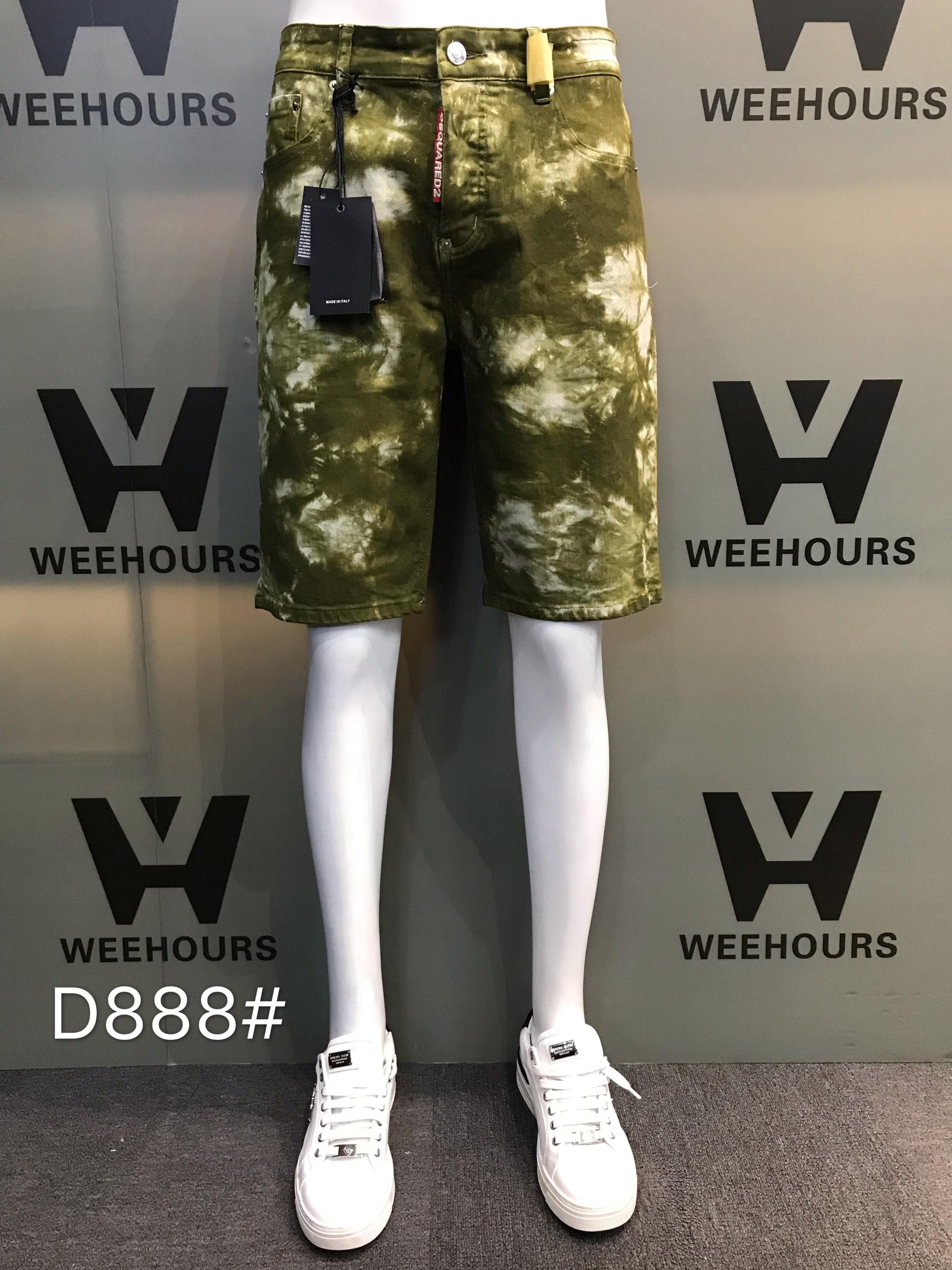 Atacado 200 peças moda reta jeans rasgados homens verão novo homens estiramento curto jeans casual streetwear denim elástico shorts D888-D891