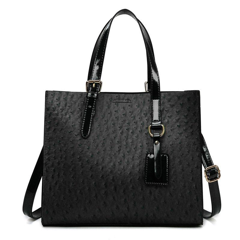 Women's 2021 Mirror Handbag Solid Color Fashion Splicing Messenger Style Shoulder Bag