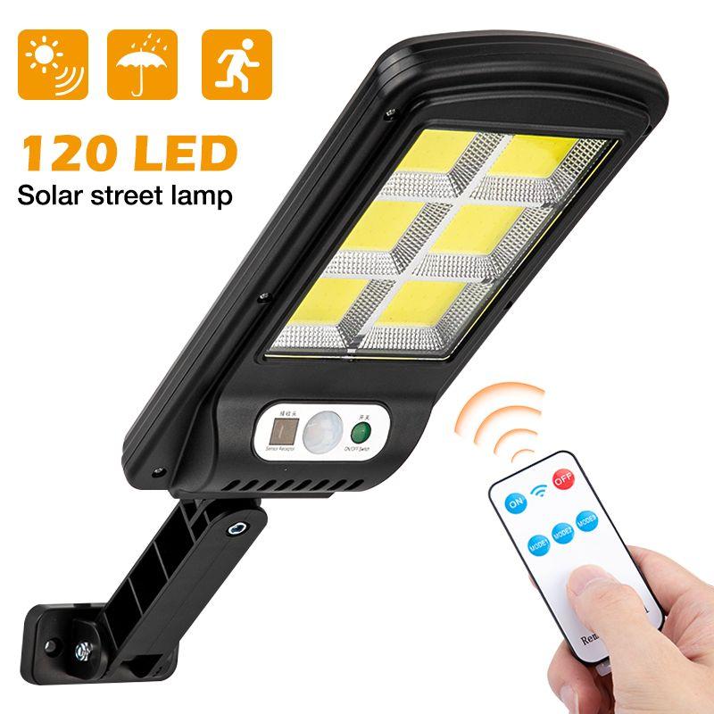 10PACK LED Outdoor Solar Street Light Waterproof PIR Sensor Wall Lamp Human Induction COB Industrial Garden Square Highway Road Lamp