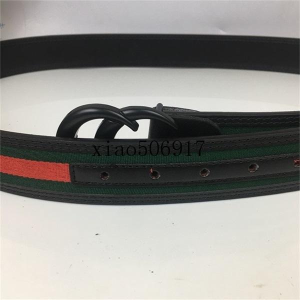 Cintura da uomo Designer, alta qualità Fashion Casual Business Business Multi-Color Head Fibbia in metallo 3,8 cm larga con scatola