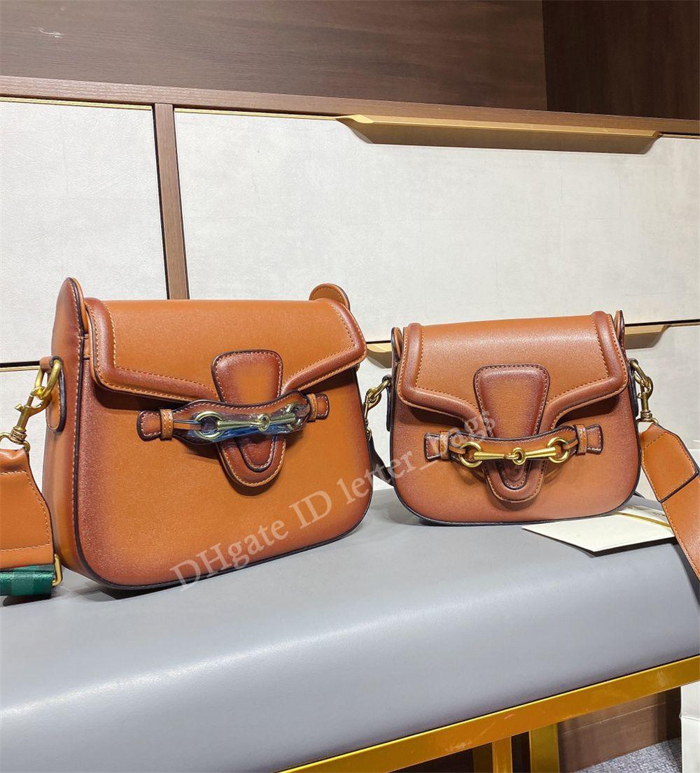 مزدوج G 2021 تحديث نسخة عبر الجسم حقيبة عالية الجودة جلد البقر الكلاسيكية الأجهزة 24 كيلو زر سرج أكياس جوكر النساء الأزياء حقائب