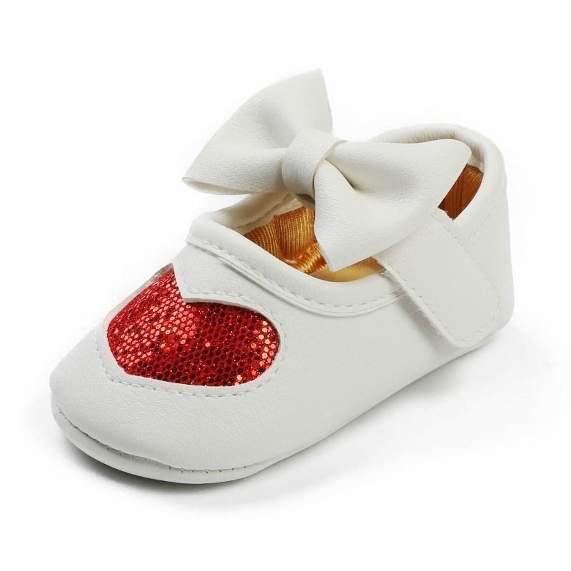 أول مشوا الربيع والخريف ولدت طفلة أحذية أحذية لينة سولب عدم الانزلاق داخلي الأميرة طفل