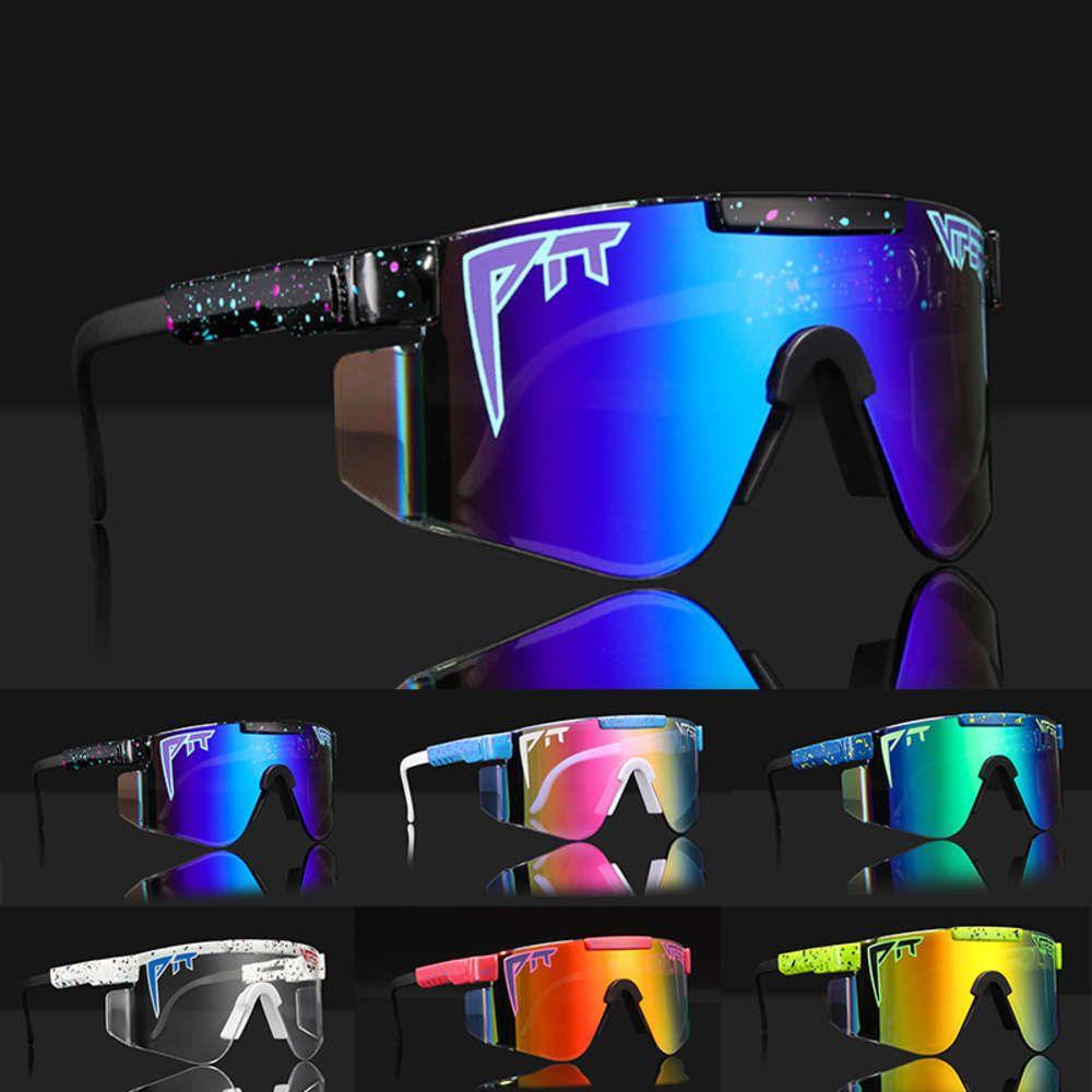2021 Pit Viper Ciclismo Óculos de Sol Esportes Ao Ar Livre Polarized Condução Óculos Homens MTB Road Bike Eyewear Ski GlassesBov4