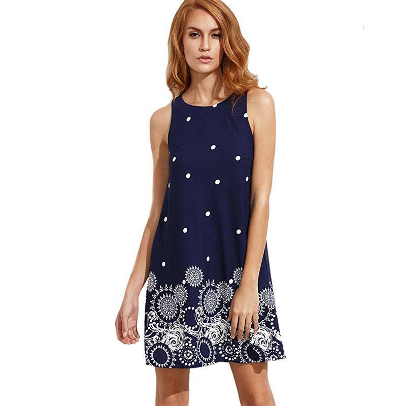 Vestidos Digital Imprimir em torno do pescoço mangas vestido para mulheres