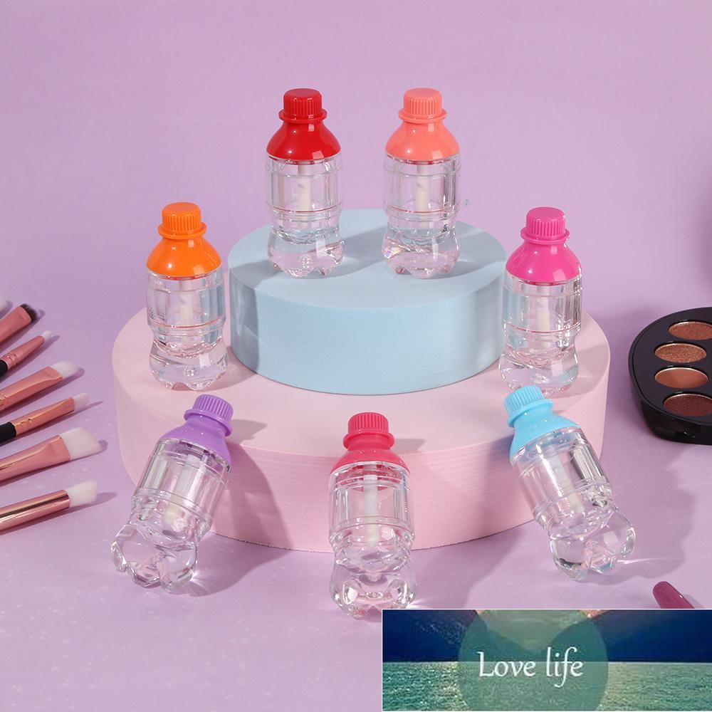1 adet 5 ml Yenilik İçecek Şişe Dudak Parlatıcı Tüp Şişe Boş Ruj Tüp Plastik Şeffaf Dudak Parlatıcısı Kozmetik Ambalaj Aracı