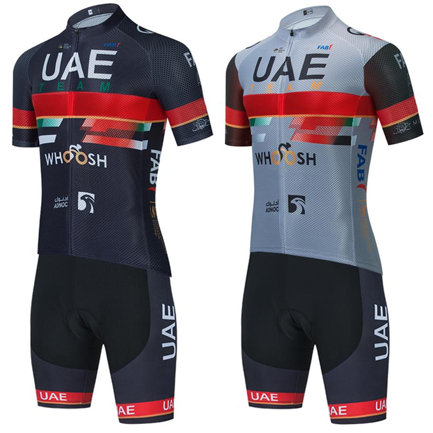 New Black Uae Cycling Jersey 20d Shorts MTB Maillot Bike Camisa Downhill Pro Mountain Bicycle roupas Terno