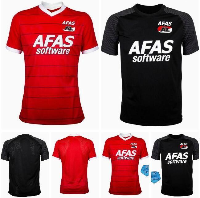 21/22 Alkmaar Futebol Jerseys Home AZ 2021 2022 Karlsson Stengs Koopmeiners Boadu Gudmundsson Sugawara Camisas de Futebol Fardos