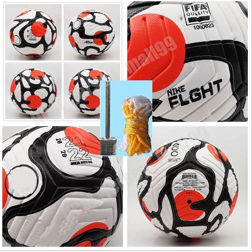 2021 2022 Balón de fútbol de la League Club Tamaño 5 Gran partido de alto grado Liga Liga Premer 20 21 PU Fútbol (barco las bolas sin aire)